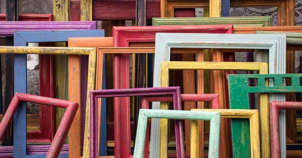 Frames for optimised images post